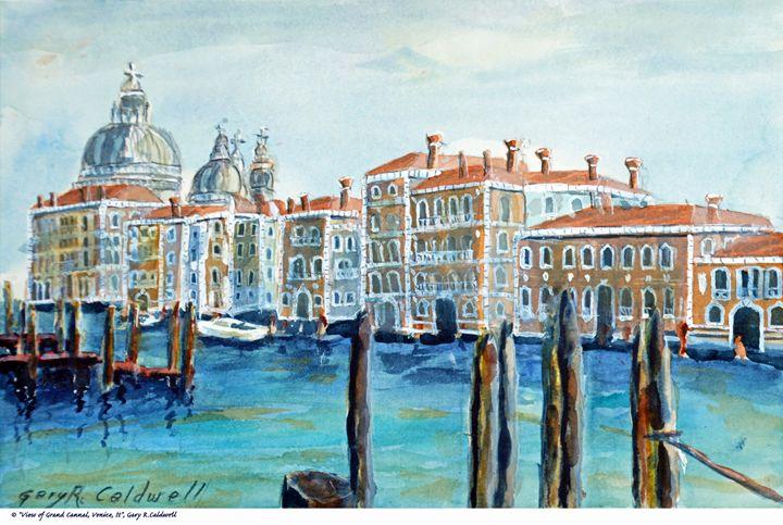 View of Grand Canal, Venice #01 - Gary R. Caldwell | CADesign, Art & Photos