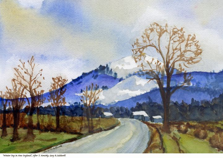 Winter Day in New England - Gary R. Caldwell | CADesign, Art & Photos
