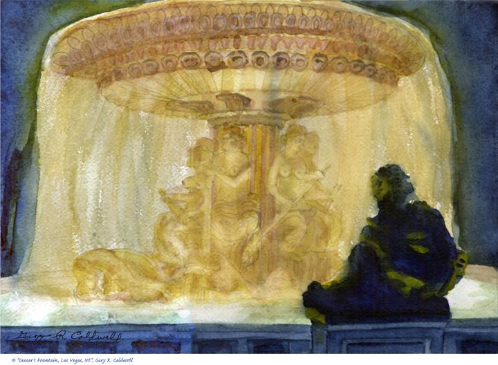 Ceasar's Fountain, Las Vegas - Gary R. Caldwell | CADesign, Art & Photos