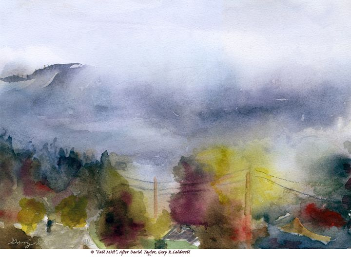 Fall Mist - Gary R. Caldwell   CADesign, Art & Photos