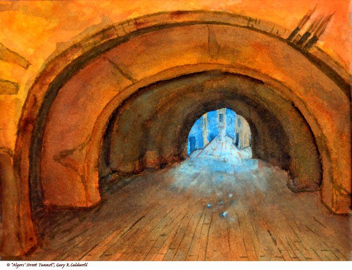 Alger's Street Tunnel - Gary R. Caldwell | CADesign, Art & Photos