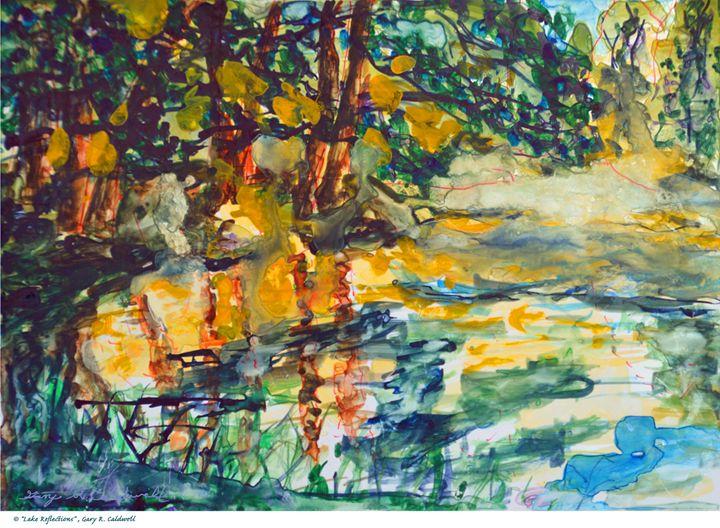 Lake Refletion - Gary R. Caldwell | CADesign, Art & Photos
