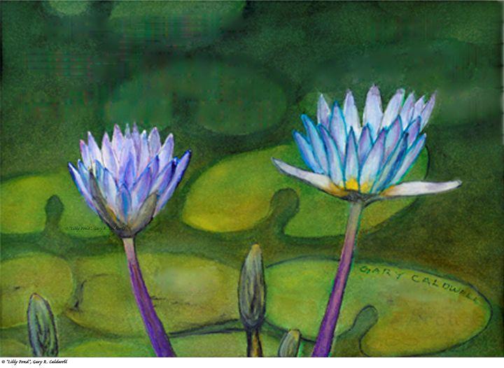 Fine Art, Watercolor, Gary R. Caldwe - Gary R. Caldwell | CADesign, Art & Photos