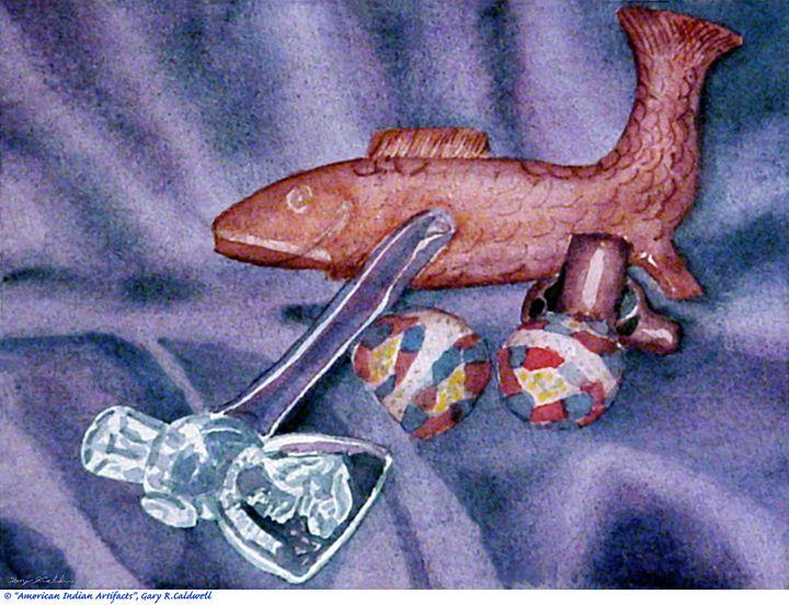 Still-Life_American indian Artifacts - Gary R. Caldwell | CADesign, Art & Photos