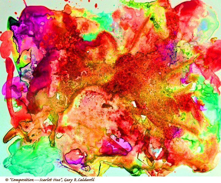 Digital-Scarlet Hue - Gary R. Caldwell | CADesign, Art & Photos