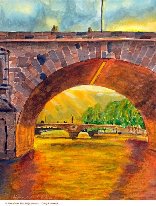 Arno River Bridge, Florence - Gary R. Caldwell | CADesign, Art & Photos