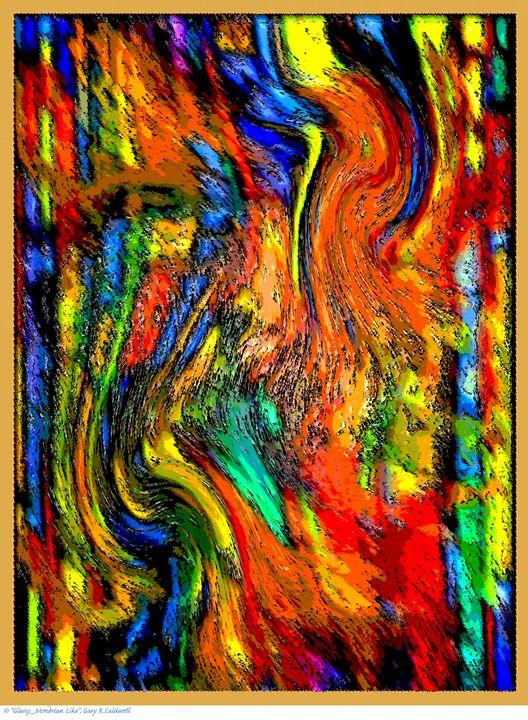 Digitally Enhanced-Mondrian Chaos - Gary R. Caldwell | CADesign, Art & Photos