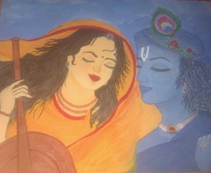 Meerabai and krishna