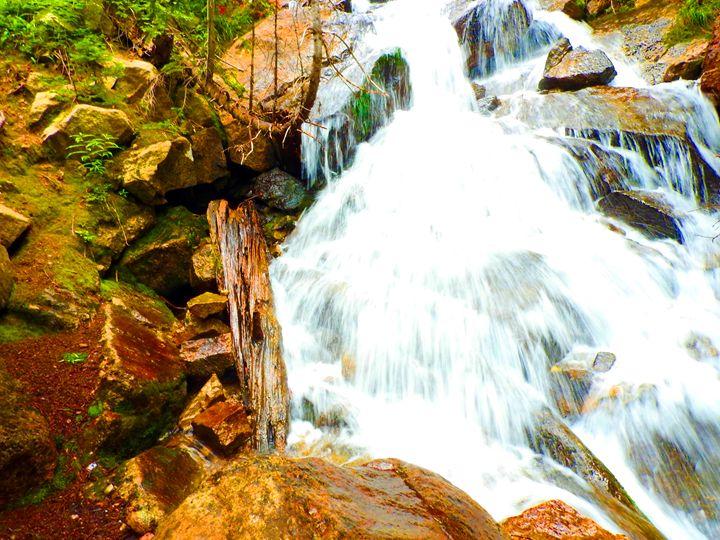 Waterfall Up-Close - E.L. Brooke Fine Art & Design