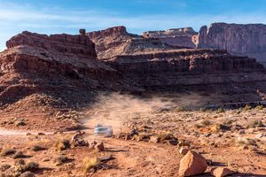 High Speed 4x4 On Canyonlands Nation