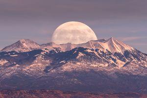 Full Moon in Canyonlands