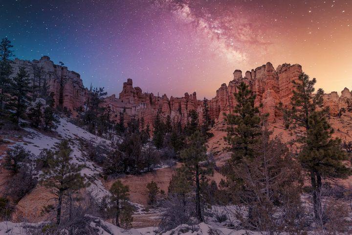 Milky Way in Bryce Canyon - Rod Gimenez
