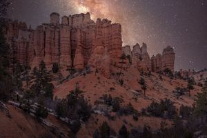 Milky Way in Bryce Canyon