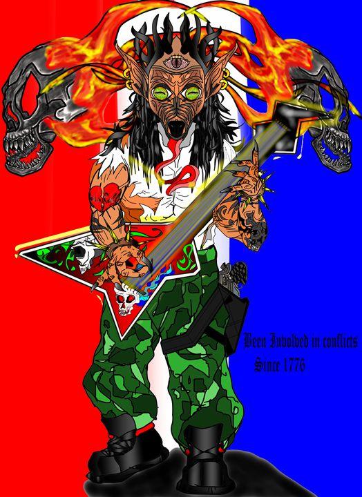 Conflict since 1776 - Always OWda-LYne