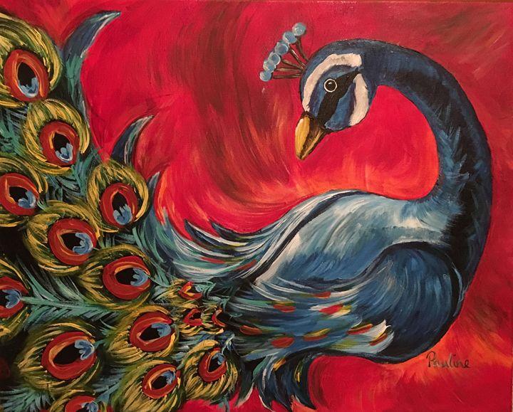 Peacock - Pauline's Paintings
