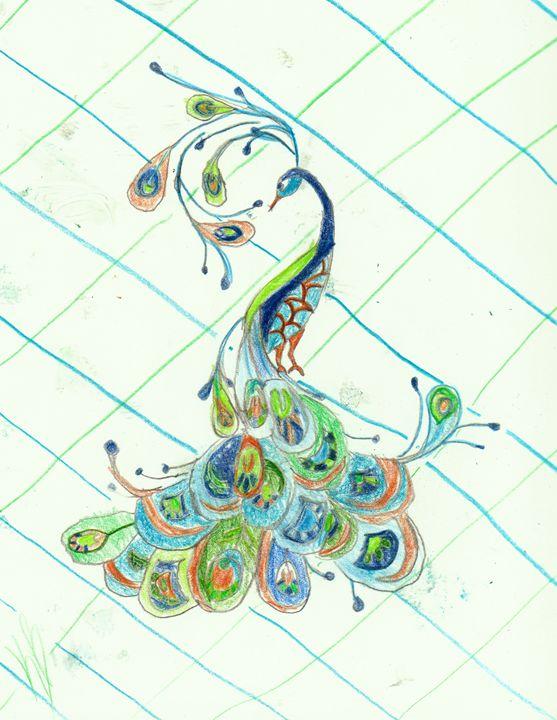 Peacock - Katie B ART