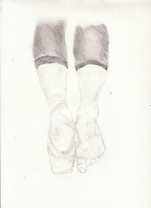 Ballet Feet - Katie B ART