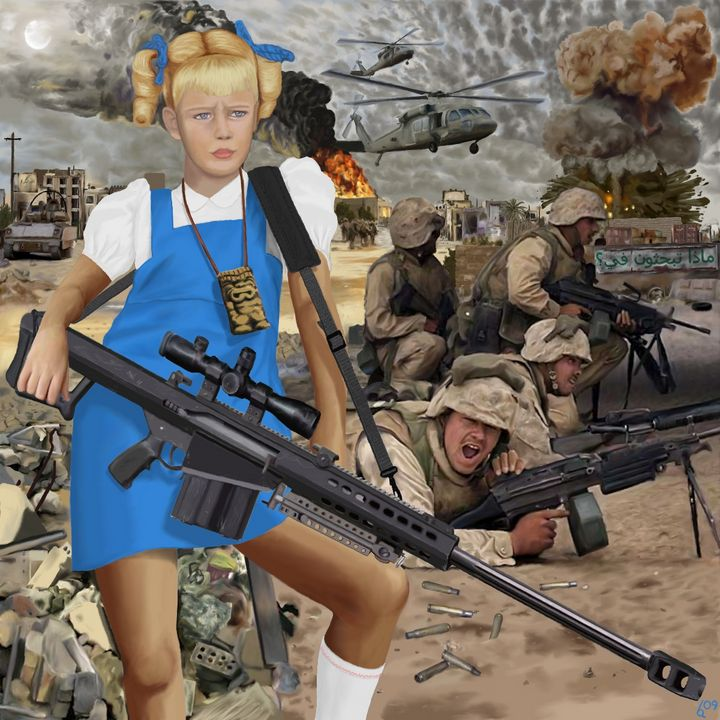 Cindy Does Fallujah - Anderson Arts