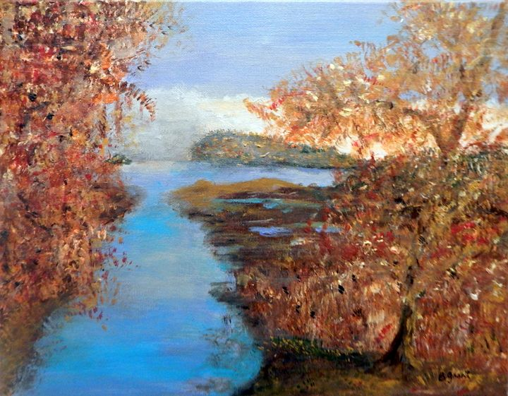 Autumn Serenity - B Grant Art