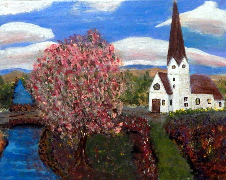 Country Church - B Grant Art
