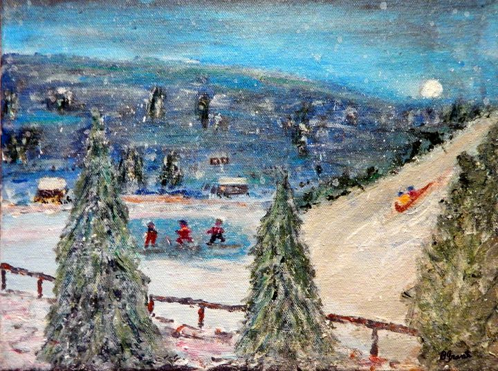 Winter Fun - B Grant Art