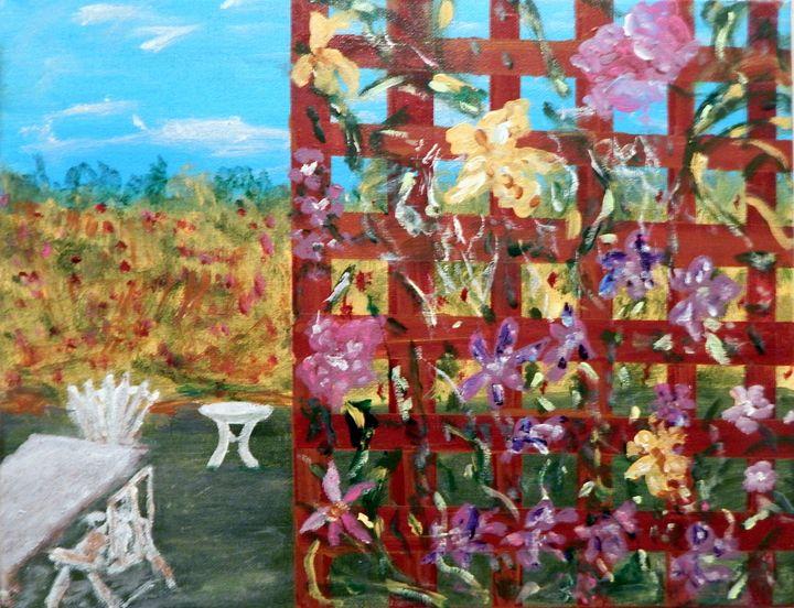 Trellis Garden - B Grant Art