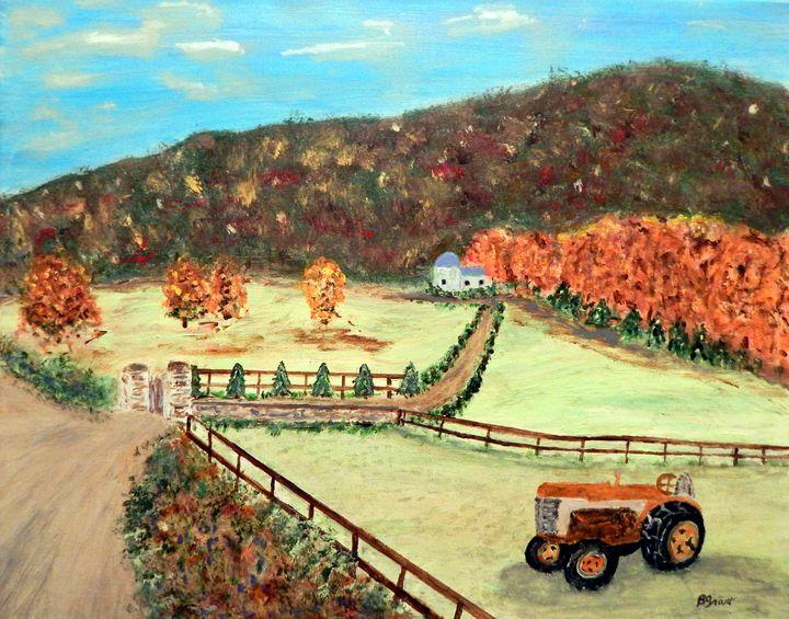 Autumn at Sugar Mountain - B Grant Art
