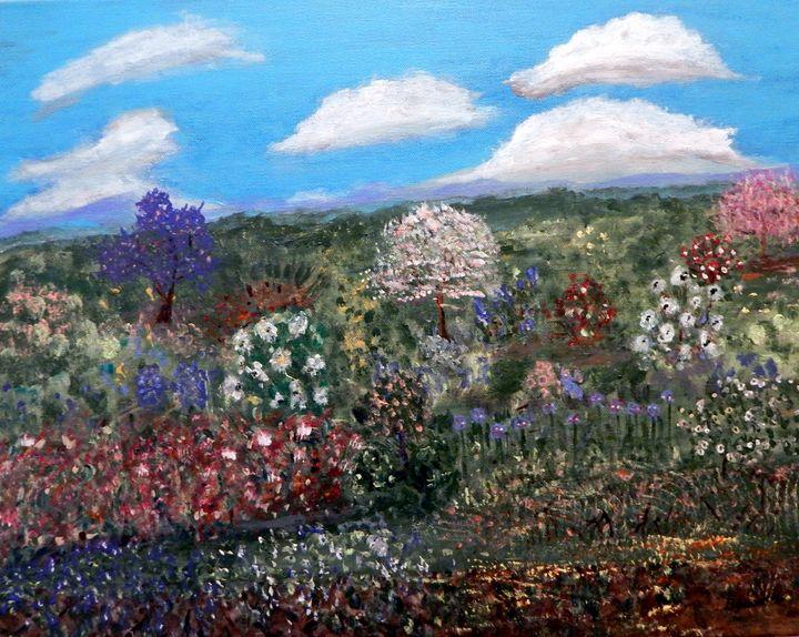 Field of Flowers - B Grant Art
