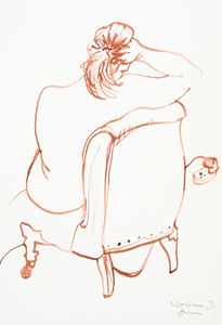 Seated nude III