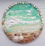 Resin/Acrylic Beach Wall Art