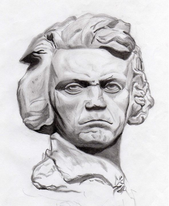 Beethoven's Stare - Michael's Gallery