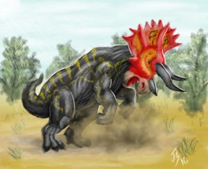 Triceratops - Shifflett Studios