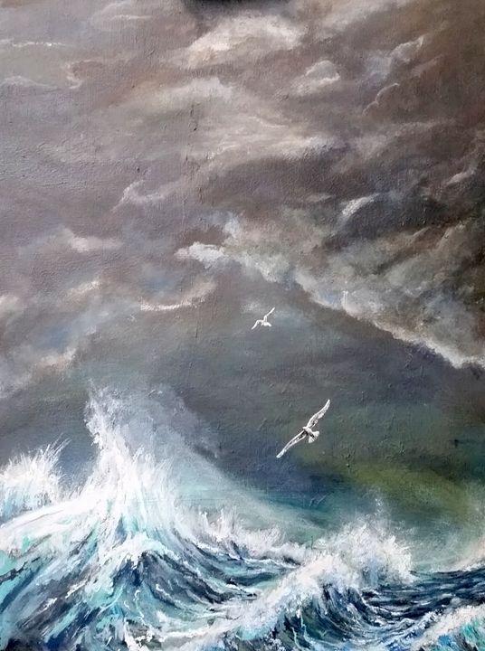 Atlantic Storm - Paul Nixon Art