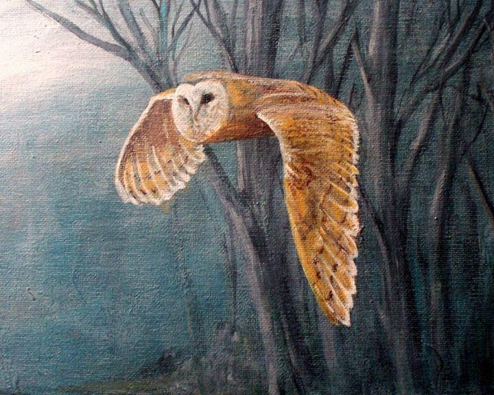 Night Hunter - Paul Nixon Art