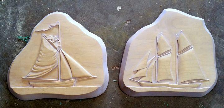 Historical Sailing Ships - Paul Nixon Art