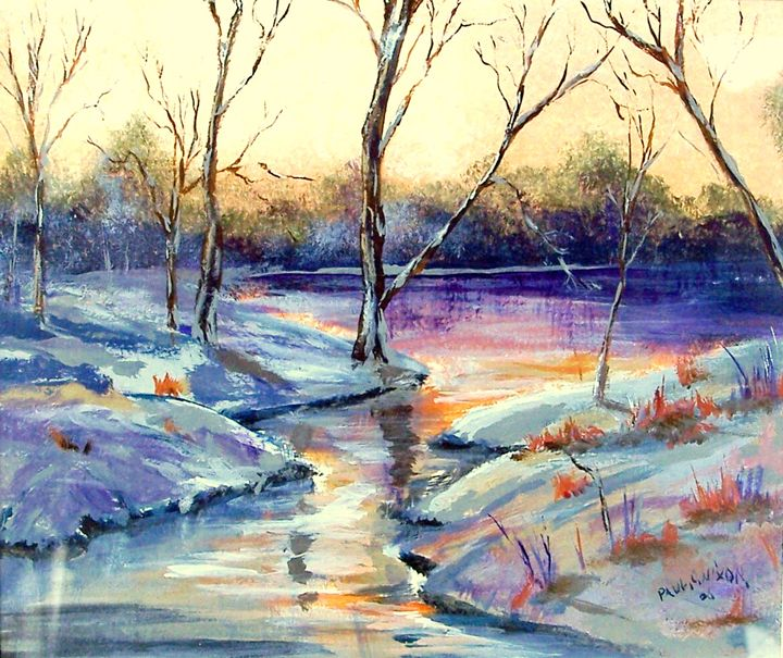 Frozen Pond - Paul Nixon Art