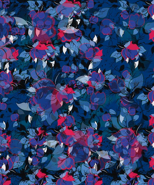 Abstract Floral - Amir Faysal