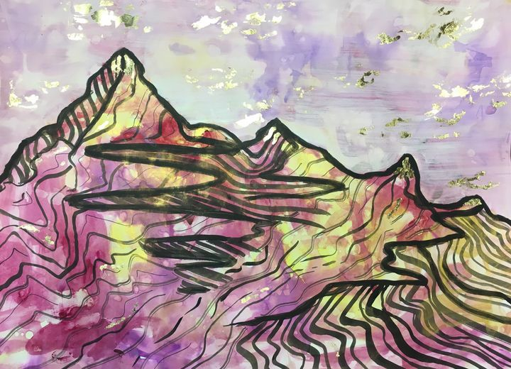 Candy Mountain - jayduckyartwork