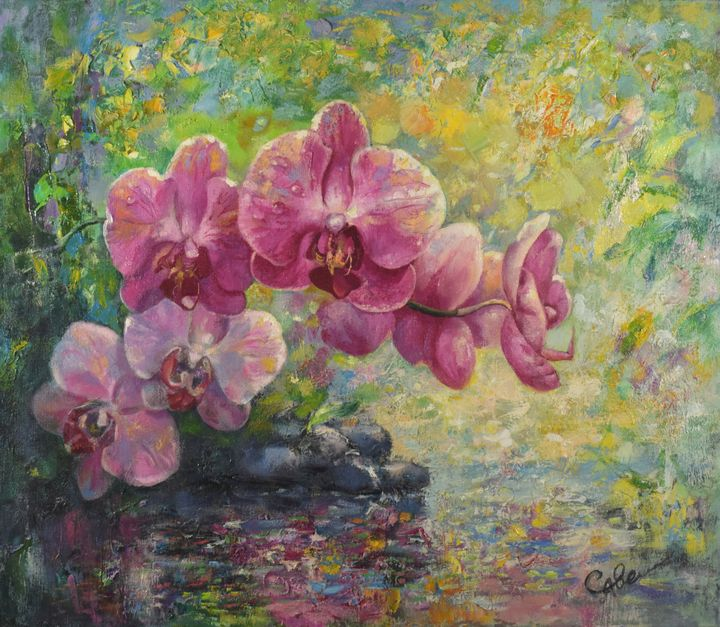 Orchids - Natalya Savenkova