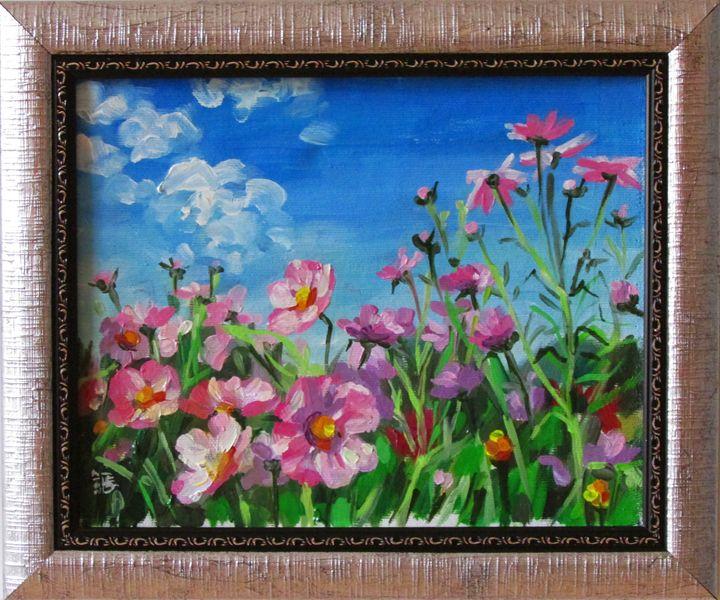 Flowering field - Kateyna Bortsova
