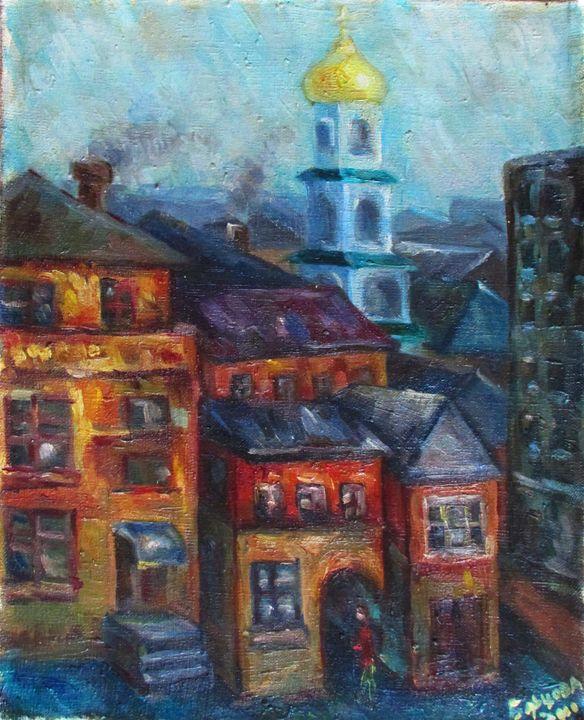 Old town - Kateyna Bortsova