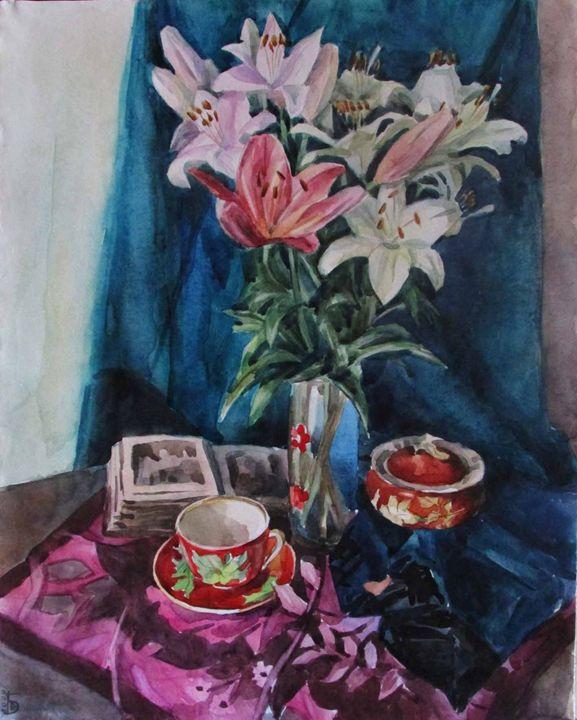 Lilies - Kateyna Bortsova