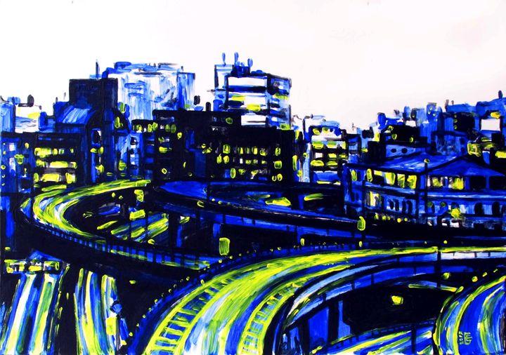 City roads - Kateyna Bortsova