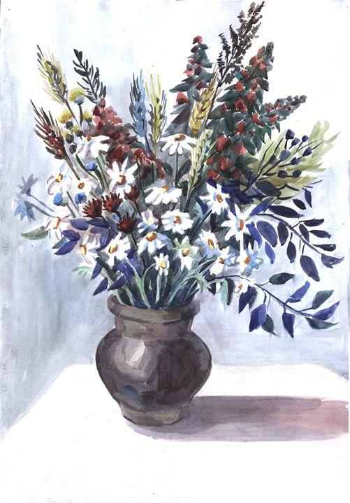 Wild flowers - Kateyna Bortsova