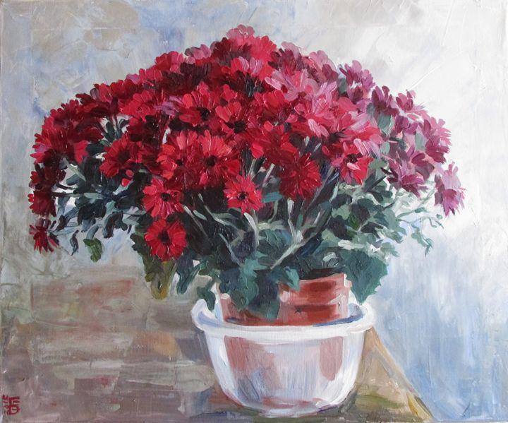 Chrysanthemums - Kateyna Bortsova