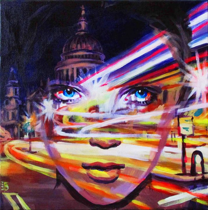 London time - Kateyna Bortsova
