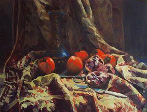 Oriental still life - Kateyna Bortsova