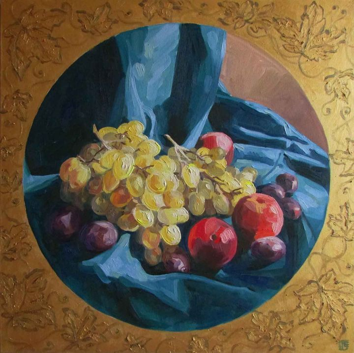 Golden grapes - Kateyna Bortsova