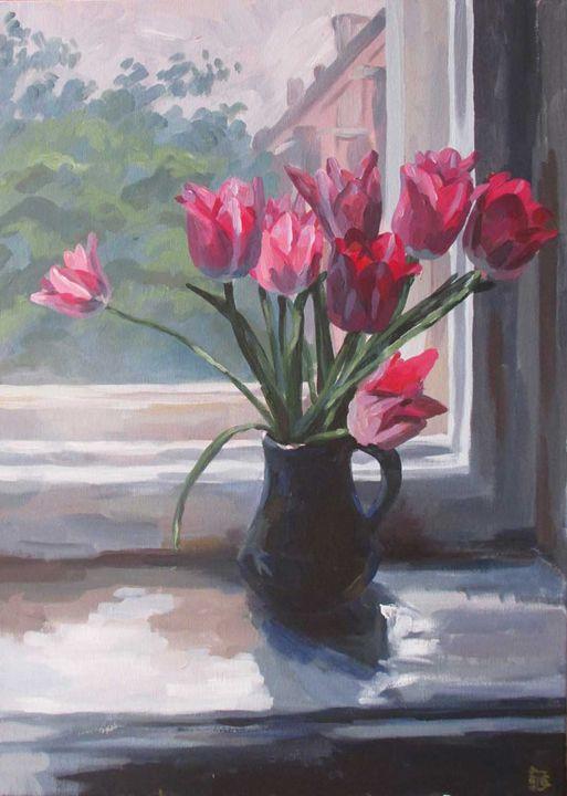 Tulips - Kateyna Bortsova