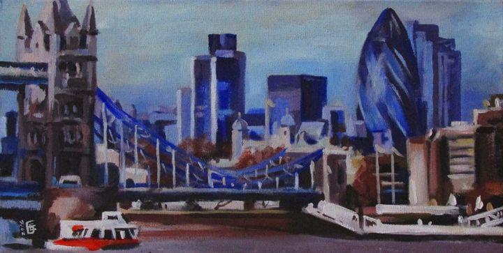 London Skyline - Kateyna Bortsova